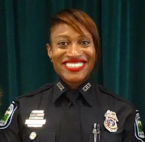 Police Officer of the Year Detective Roxanne Hunt