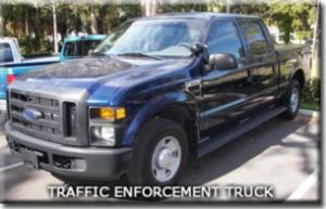 Traffic Enforcement Truck
