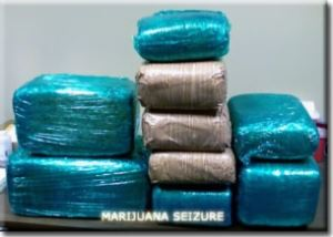 Marijuana Bricks From Seizure