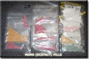 Confiscated Ecstacy Pills