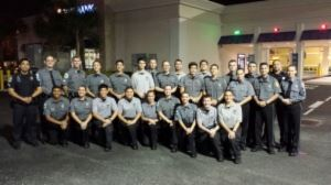 Explorer Post 912 Night Photo