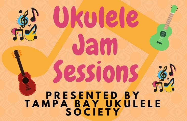 Image of ukulele jam sessions logo