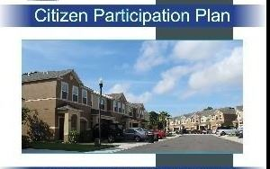 Citizen Participation Plan
