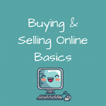 Buying and Selling Online Basics image Laughing Computer