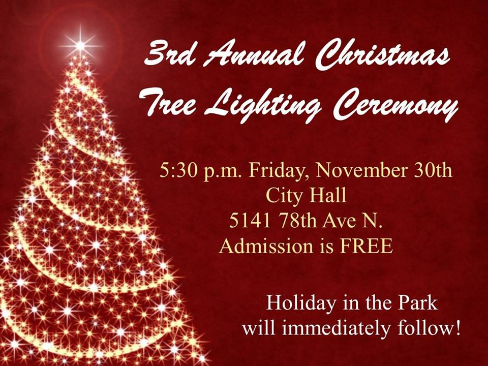 3rd Annual Christmas Tree Lighting Ceremony