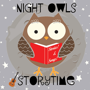NightOwls Owl Reading a book