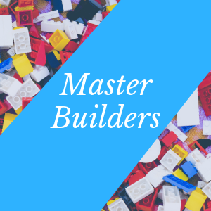 Master Builders with Lego® pieces