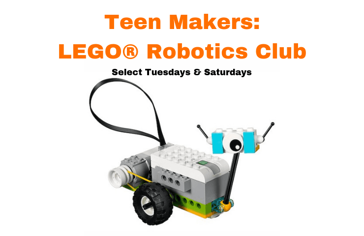Teen Lego Robotics Select Tuesdays and Saturdays