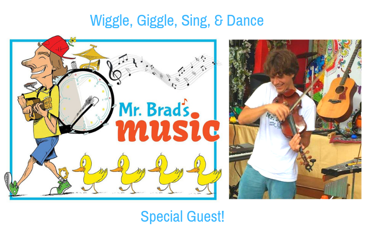 Wiggle, Giggle, Sing & Dance Special Guest Mr Brad