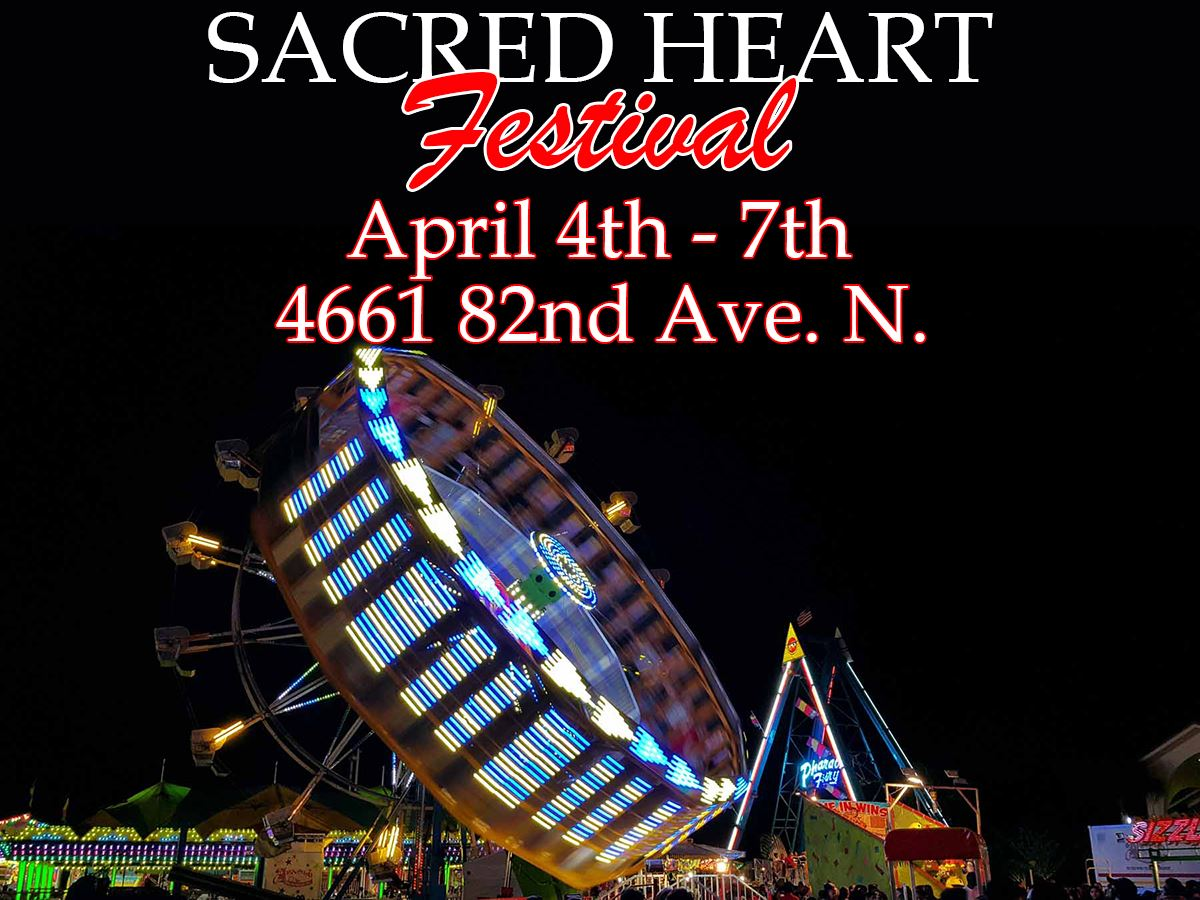 Sacred Heart Festival April 4th-7th