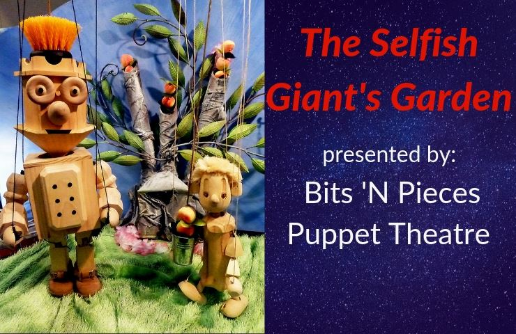 Newsflash Selfish Giant&#39s Garden presented by Bits &#39N Pieces Puppet Theater