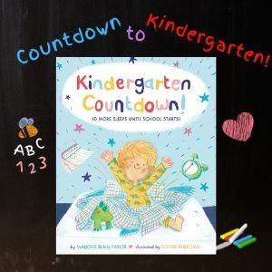Countdown to Kindergarten 10 More Sleeps Until School Starts