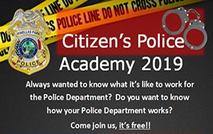 2019 Pinellas Park Citizens Police Academy