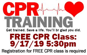 Pinellas Park Fire Department CPR Training September 17th @ 5:30pm