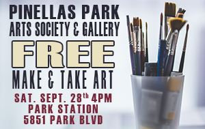 Make & Take Art Event Sat September 28th @ 4pm 5851 Park Blvd.
