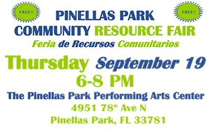 Community Resource Fair @ Performing Arts Center September 19th, 6:00pm