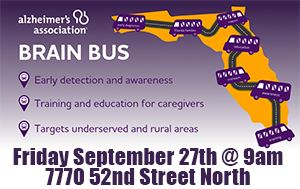 Alzheimer's Brain Bus at the Barbara S. Ponce Library September 27th @ 9am