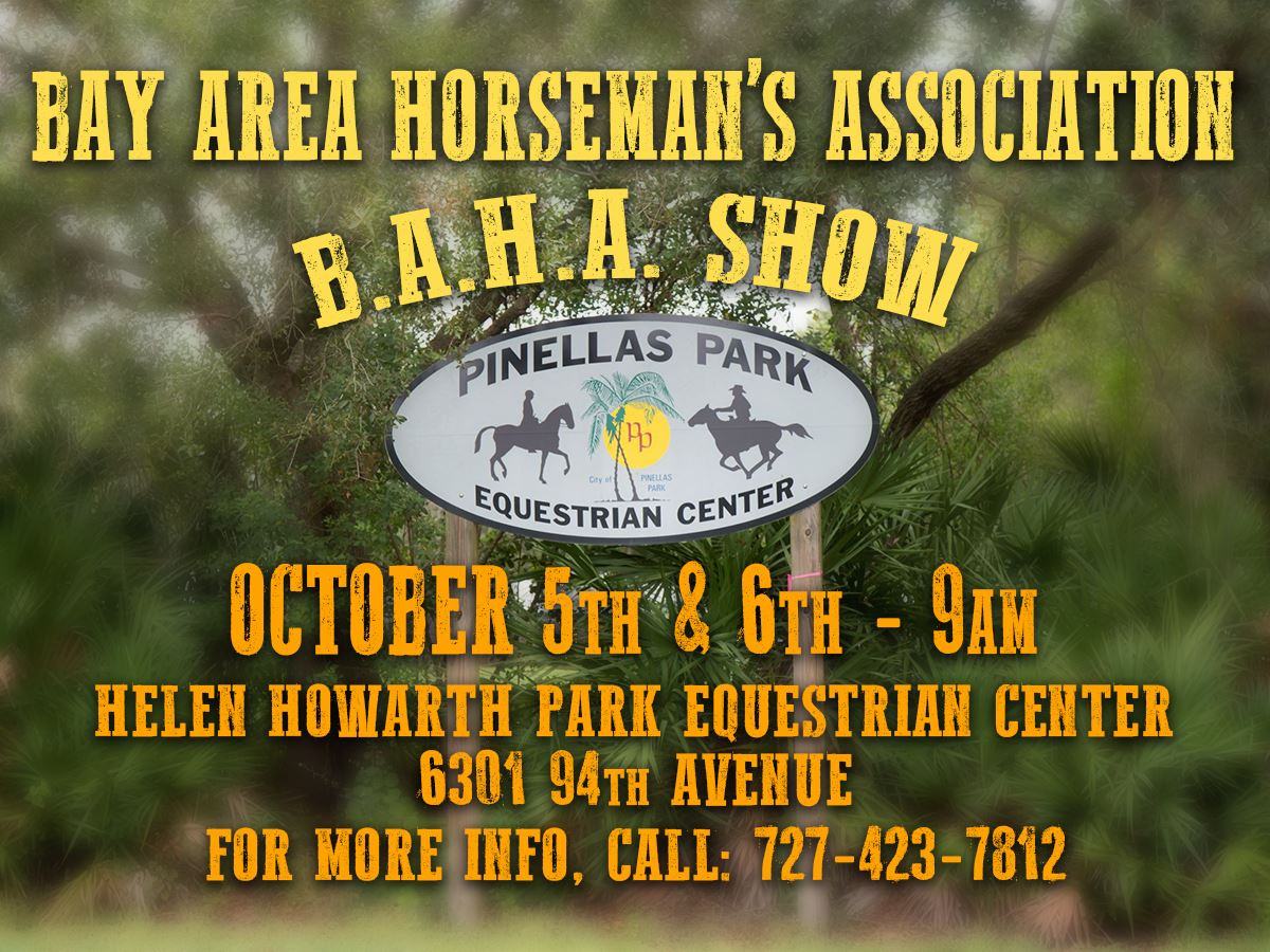 BAHA Event October 5th & 6th 9am @ Helen Howarth Park