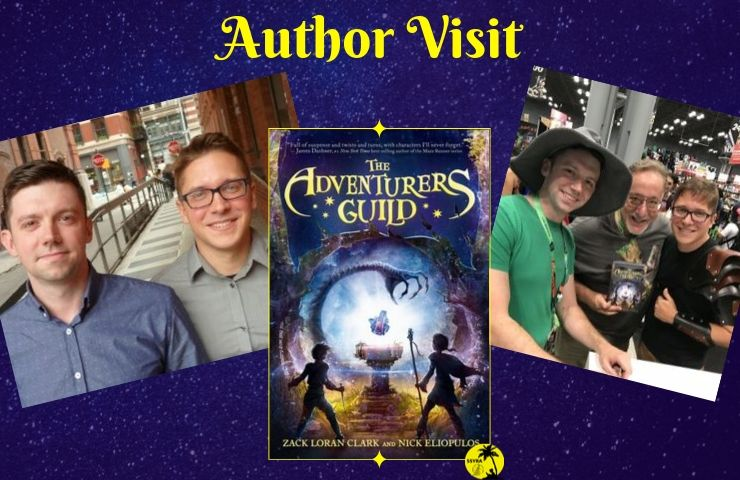 Author Visit The Adventurers Guild