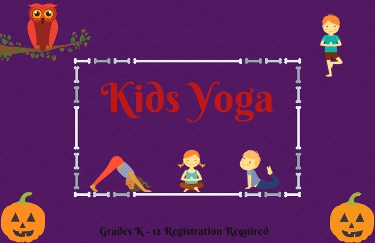 Kids  Yoga Registration Required for grades K-12