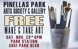 Make & Take Art Event Sat November 23rd @ 4pm 5851 Park Blvd.