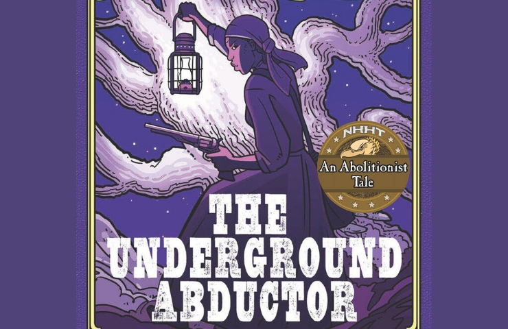 Book cover for The Underground Abductor by Nathan Hale