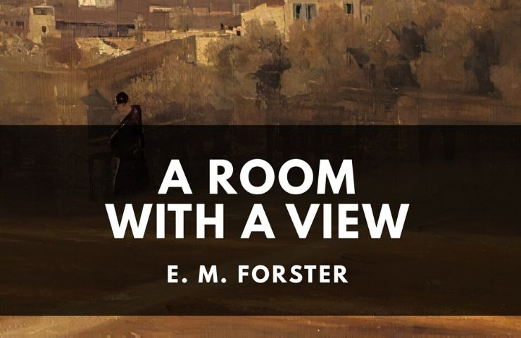 Book cover for A Room with a View by E. M. Forster