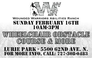 Wounded Warriors Abilities Ranch Wheelchair Obstacle Course @ Lurie Park February 16th, 10am