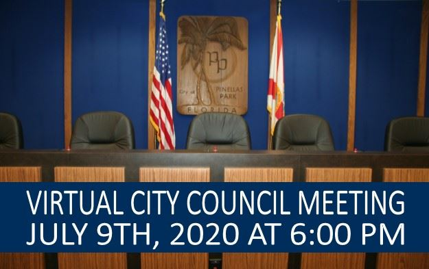 Virtual Council Meeting July 9th