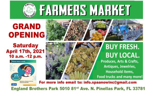Sunday Farmers Market Grand Opening