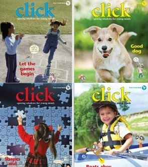Click Magazine Covers Opens in new window