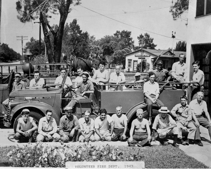 Volunteer Fire Dept 1947