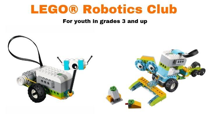 LEGO Robotics for youth in grades 3-12