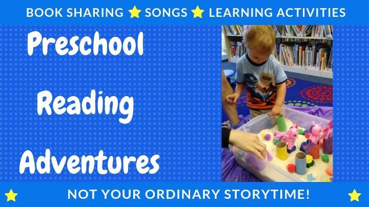 Book sharing Song Learning activities Preschool Reading Adventures Not your average storytime