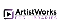 logo for artist works Opens in new window